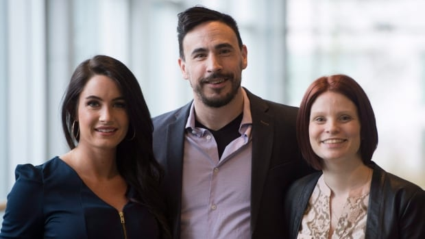 Emily Travis, left to right, Myles Himmelreich, and C.J. Lutke are the researchers behind a survey that found adults with fetal alcohol spectrum disorder suffer from other medical conditions at higher rates than the general population.