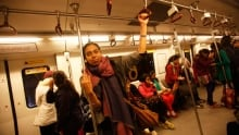 Claiming Space - India Subway - Women