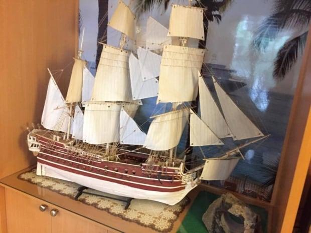 Bob Taylor's ship model