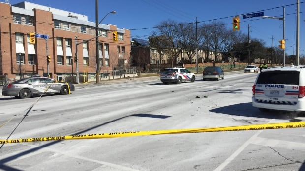 Twin 9-year-old boys struck by a vehicle in North York