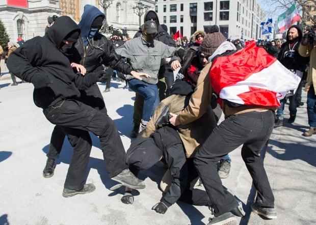 Anti Islamophobia Protests 20170304