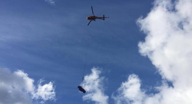 North Shore Rescue Cypress Avalanche long-line rescue