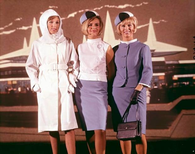 Expo 67 hostess uniforms