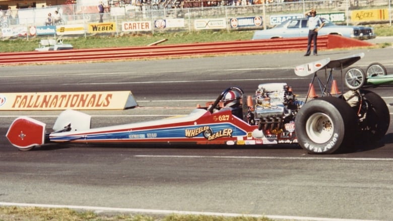 Winnipeg owner of famous Alberta dragster donates it to