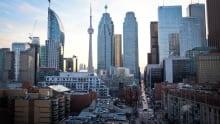 Toronto St. Lawrence Market Skyline