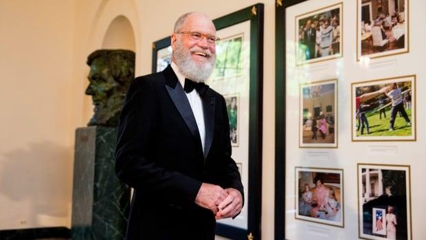 David Letterman to receive nation's top prize for comedy