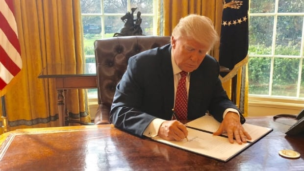 A new version of Donald Trump's travel ban is now in effect, with a patchwork of exemptions for people wishing to enter the U.S. from six Muslim-majority countries, because of a U.S. Supreme Court ruling.