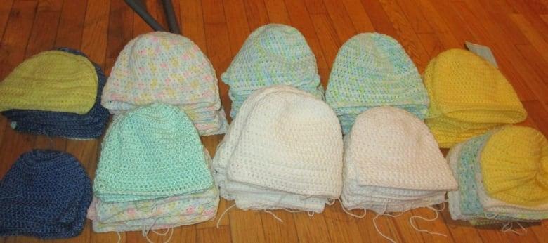 Crochet It Forward Corner Brook Woman Makes Woolen Hats For Tiny