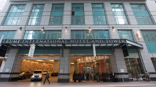 The Trump International  Hotel and Tower in Toronto isn't owned by the U.S. president or any of his companies, but a subsidiary of the Trump Organization has the contract to manage the property. Nobody has bid to buy the tower as part of a court-supervised sale, so ownership will fall to its largest debt holder.