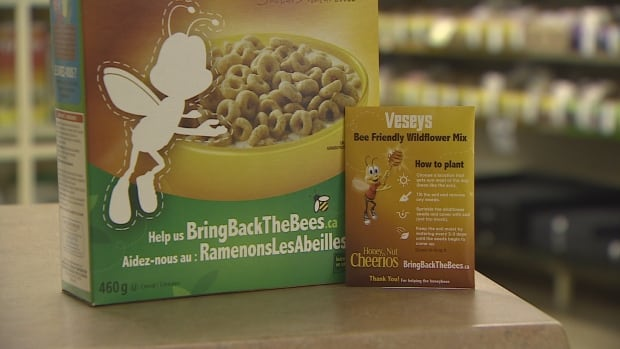 Veseys bees Honey Nut Cheerios
