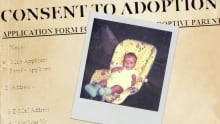 Consent to adoption headline