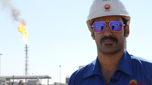 Reza Golhaki is the health, safety and environment supervisor at an oil-processing facility built with China's help in Iran's oil-rich Khuzestan province.
