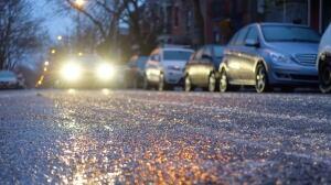 'Hazardous' freezing rain hits southern Quebec