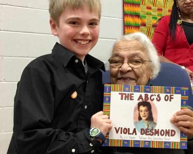 Viola Desmond book Wanda Robson
