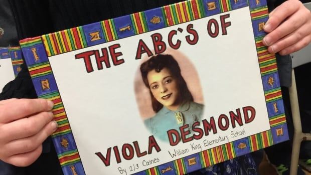 The ABCs of Viola Desmond will be distributed to Grade 3 classrooms after a launch today.