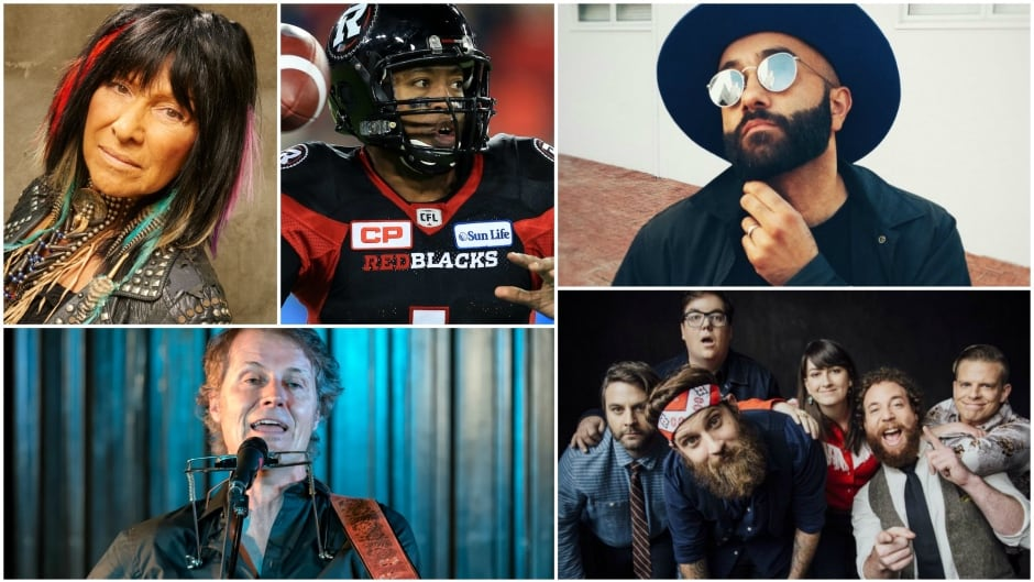 Buffy Sainte-Marie, Henry Burris, Blue Rodeo's Jim Cuddy, MC Yassin 'Narcy' Alsalman and The Strumbellas will join Tom Power at this year's Live at the JUNOS show in Ottawa, Ont.