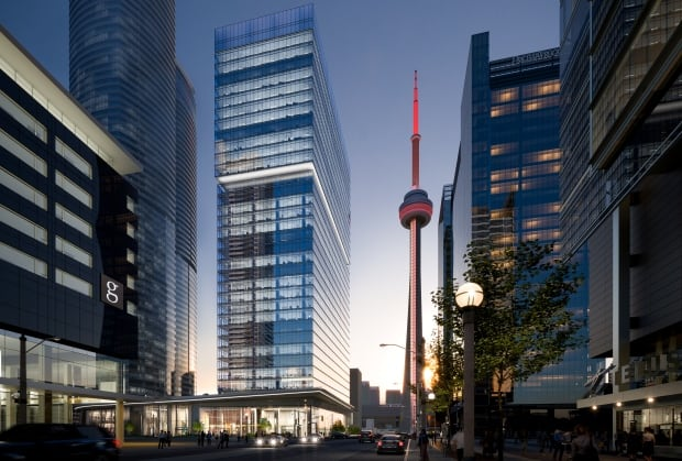 Cadillac Fairview office tower