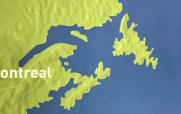 Vancouver map missing PEI