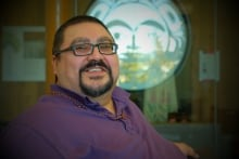 Steve Smith chief of the Champagne and Aishihik First Nations