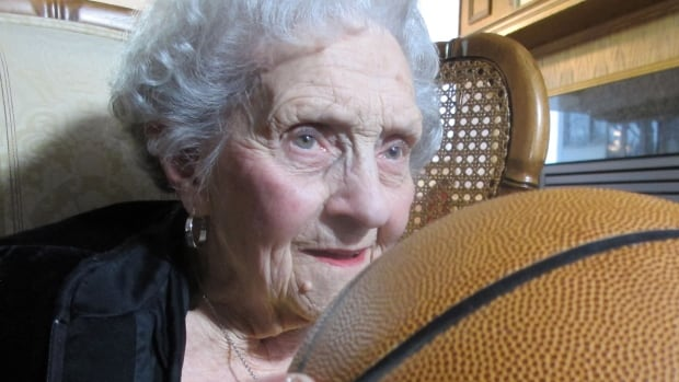 'It's still with me,' says Kay MacBeth, decades after she was on the court with the Edmonton Grads basketball team. 'It's in my heart.'