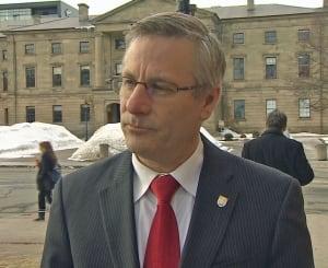 P.E.I. Health Minister Rob Henderson, winter