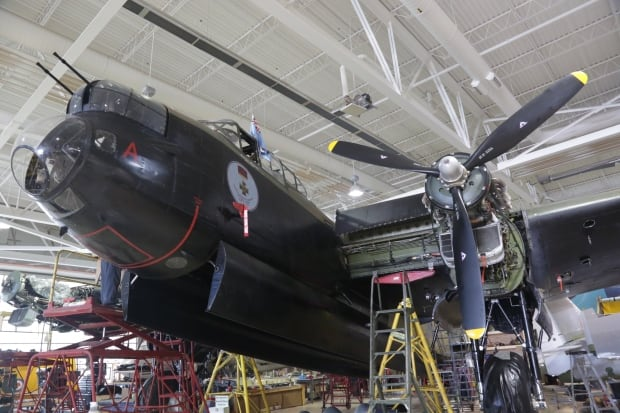 Canada's only flying Lancaster Bomber