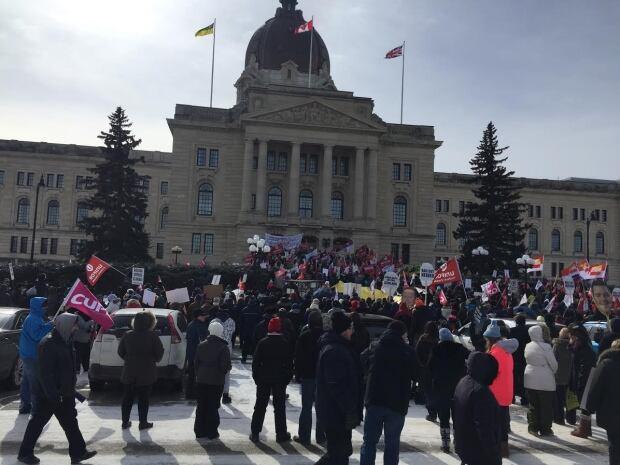 Regina Sask Rally