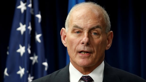 Homeland Security Secretary John Kelly will visit Ottawa on Friday. He'll be the first of Donald Trump's inner circle to make the trip.