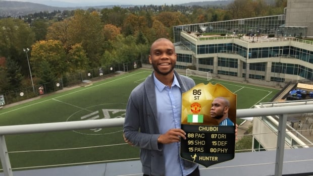 """Vancouver resident Chu """"ChuBoi"""" Morah is a FIFA eSports host, promoting online FIFA games on Twitch."""