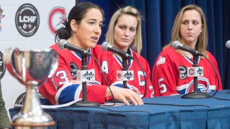 CWHL: Ouellette Irked By Lack Of French TV Coverage For Cleague Final