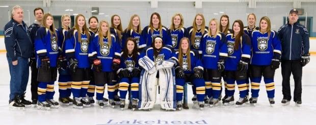 Dan Calvert Lakehead University women's hockey
