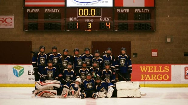 The Lakehead University women's hockey team, from Thunder Bay, Ont. will compete for the American Collegiate Hockey Association division 2 national championships in Columbus, Ohio, starting on March 15, 2017.