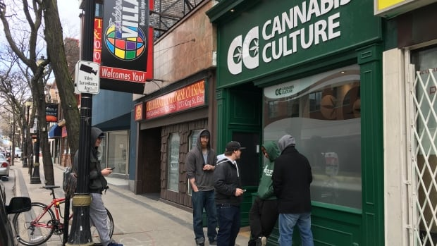 Toronto police raided Marc and Jodie Emery's marijuana dispensary, Cannabis Culture along King Street East on Thursday morning, as part of Project Gator.
