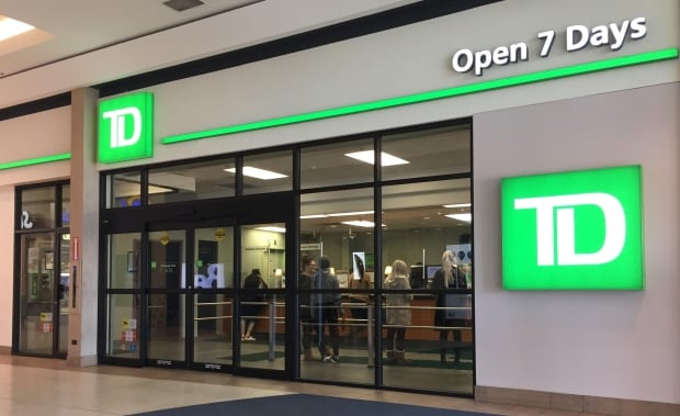 TD bank in Windsor, Ontario