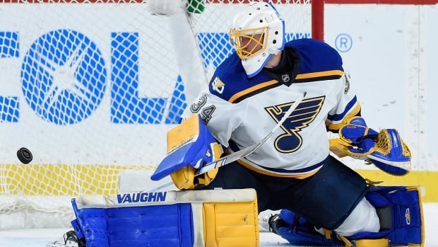 Blues goalie Jake Allen lost six consecutive starts leading to head coach Ken Hitchcock's firing on Feb. 1 but has thrived under his successor, Mike Yeo. Through March 8, the 26-year-old Fredericton native boasted a 1.76 goals-against average and .941 save percentage in 12 starts since the all-star break.