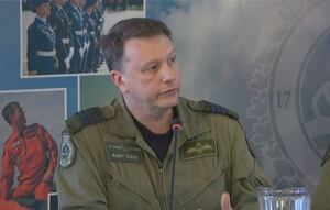 Col. Andy Cook commander of 17 Wing Winnipeg.