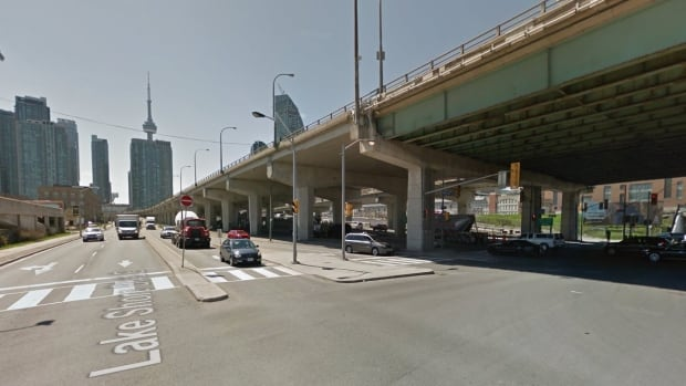 The area of Lake Shore Boulevard and Lower Jarvis was temporarily closed for the investigation