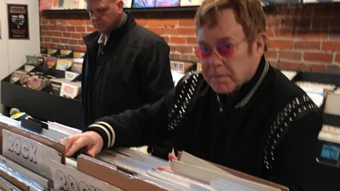 Elton John Walks Into Vancouver Record Store Asks For