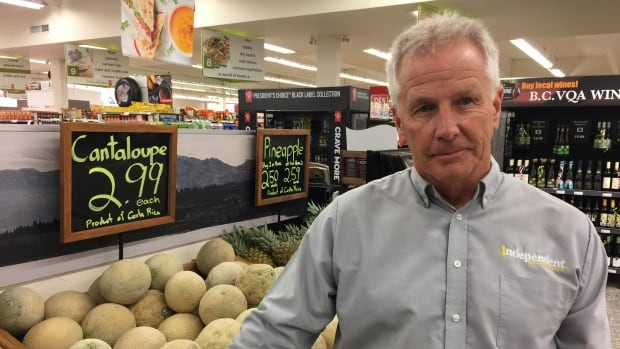 """Grocery store owner Peter Boyd calls the recognition from the federal government """"a true honour."""""""