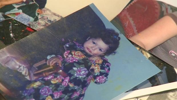 Mona Sock as a baby