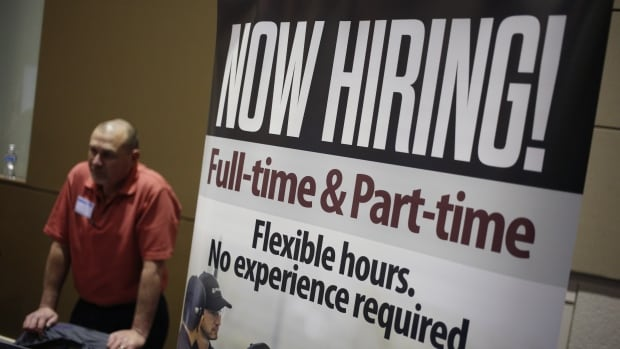 Canada's economy added 89,000 full-time jobs in October, figures released Friday show.