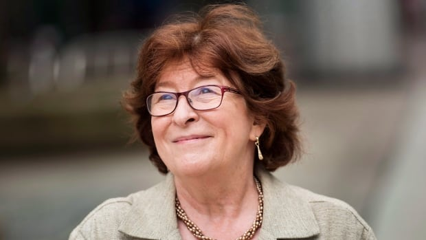 Louise Arbour smiles after having her star unveiled on Canada's Walk of Fame in Toronto last year. She has been appointed as UN special representative of the secretary-general for international migration.
