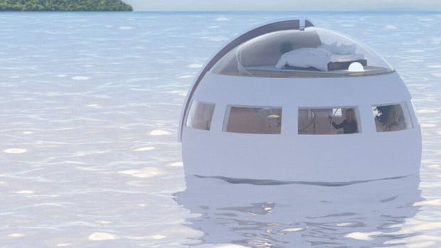 Thumbnail for Sleep in a luxury floating hotel pod at this futuristic Japanese hotel | CBC Life