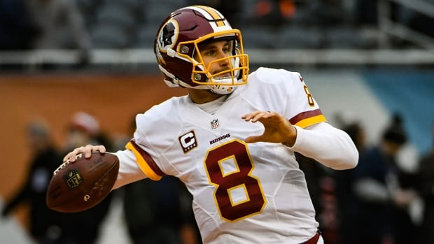Kirk Cousins passed for nearly 5,000 yards last season.