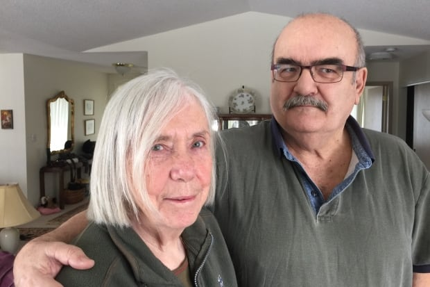 Margaret Roberts and her husband George Hollo March 10, 2017
