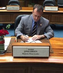 Senator Josh Green