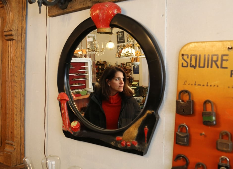 Toronto Salvage Shop Customer Sophie