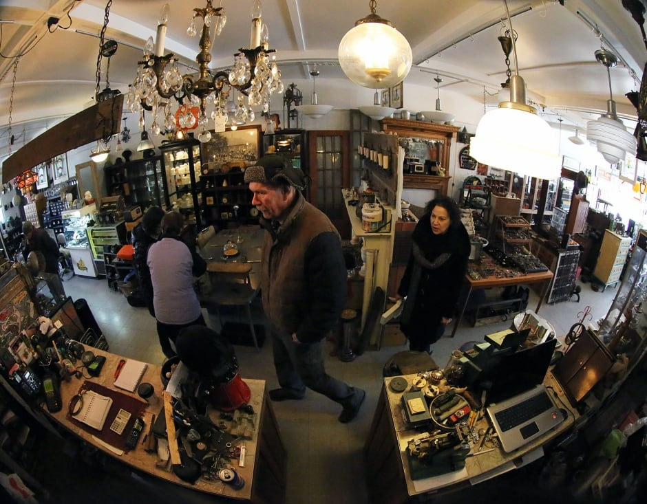 Toronto Salvage Shop Fisheye