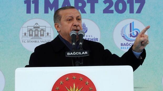 Turkey slaps sanctions on Dutch, says European Union criticism 'has no value'