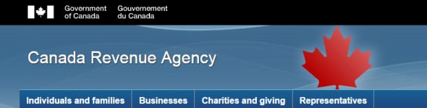 Canada Revenue Agency website